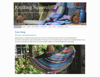 theknittingsquirrel.com screenshot