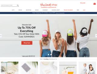 theknotweddingshop.com screenshot