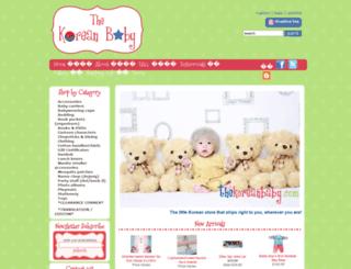 thekoreanbaby.com screenshot