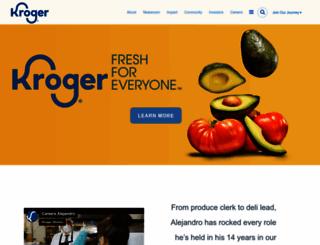 thekrogerco.com screenshot
