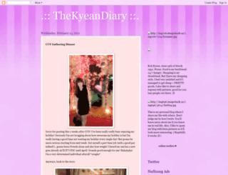thekyeandiary.blogspot.com screenshot