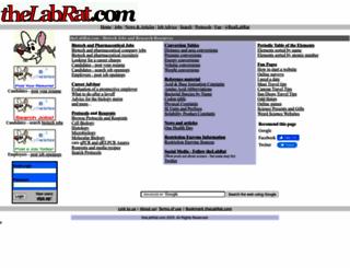 thelabrat.com screenshot