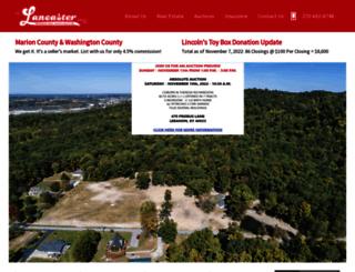 thelancasteragency.com screenshot