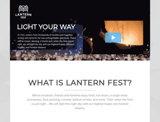 thelanternfest.com screenshot