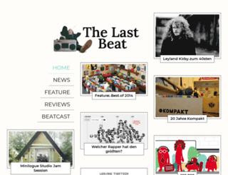 thelastbeat.com screenshot