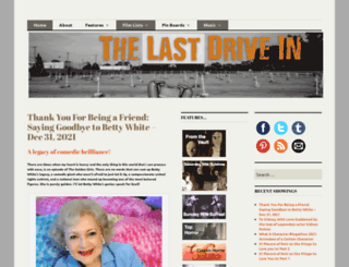 thelastdrivein.com screenshot
