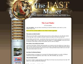 thelastmailer.com screenshot
