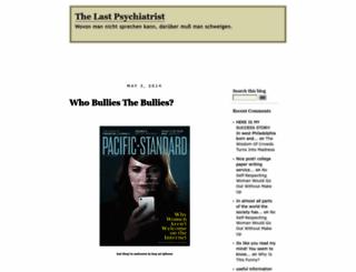 thelastpsychiatrist.com screenshot