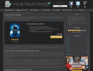 thelastwitchhunter-film.de screenshot