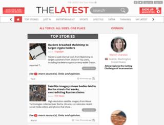thelatest.com screenshot