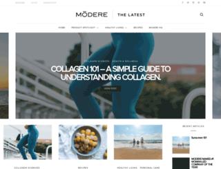 thelatest.modere.com.au screenshot