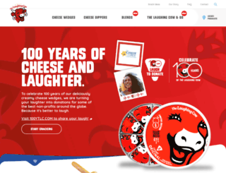 thelaughingcow.com screenshot
