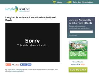 thelaughtermovie.com screenshot