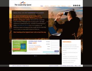theleadershipquest.com screenshot