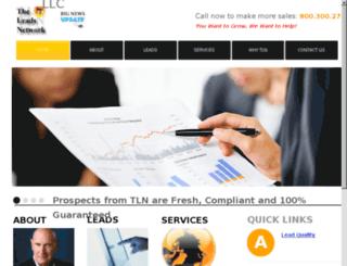 theleadsnetwork.net screenshot