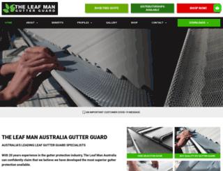 theleafman.com.au screenshot