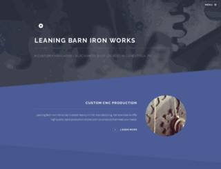 theleaningbarn.com screenshot