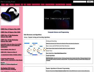 thelearningpoint.net screenshot