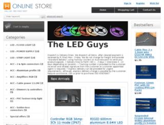 theledguys.com.au screenshot
