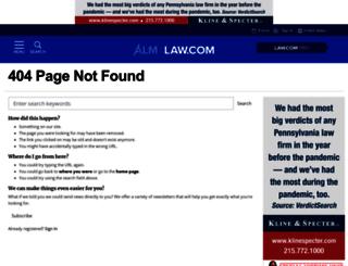 thelegalintelligencer.typepad.com screenshot