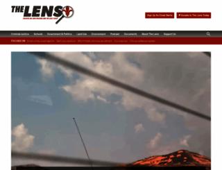 thelensnola.org screenshot