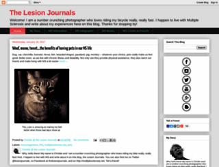 thelesionjournals.blogspot.com screenshot