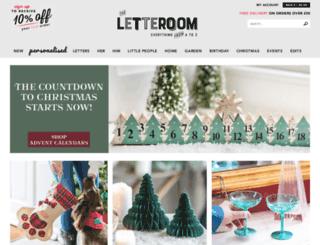 theletteroom.com screenshot