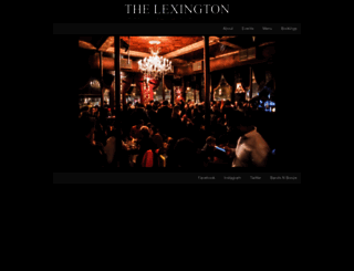 thelexington.co.uk screenshot