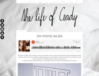 thelifeofceady.blogspot.com screenshot