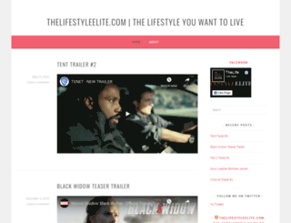 thelifestyleelite.wordpress.com screenshot