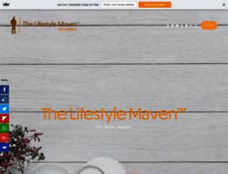 thelifestylemaven.com screenshot