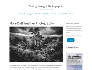 thelightweightphotographer.wordpress.com screenshot
