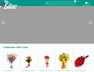 thelilac.in screenshot