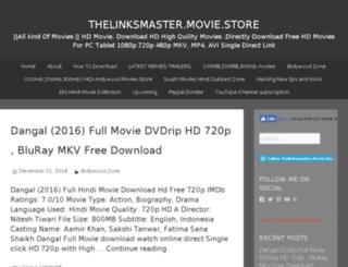 thelinksmaster.movie.blog screenshot