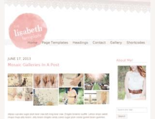 thelisabeth.angiemakes.com screenshot