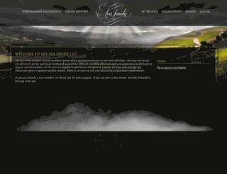thelist.seasmoke.com screenshot