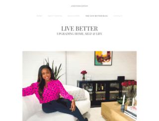 thelivebetterblog.com screenshot