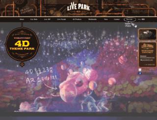 thelivepark.com screenshot