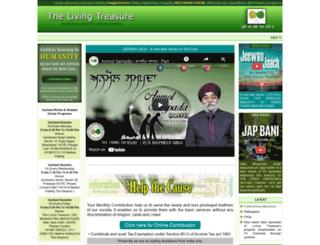 thelivingtreasure.com screenshot