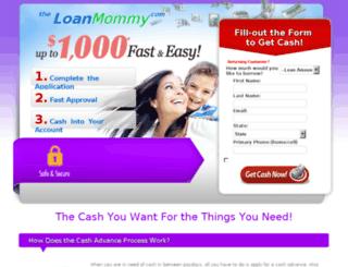 theloan-mommy.com screenshot
