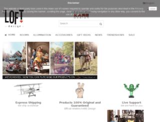theloftdesign.com screenshot