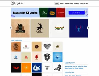 thelogomix.com screenshot
