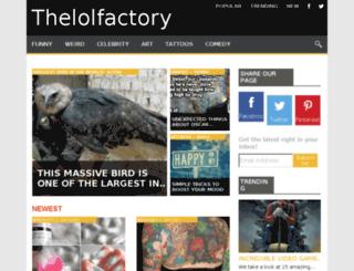 thelolfactory.org screenshot