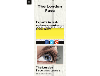 thelondonface.com screenshot