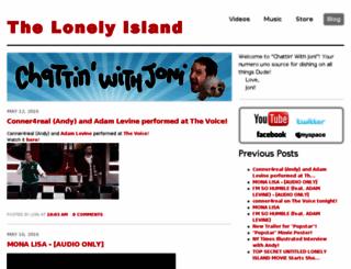 thelonelyisland.blogspot.com screenshot