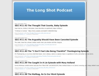 thelongshotpodcast.libsyn.com screenshot