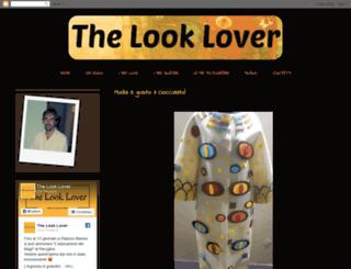 thelooklover.blogspot.it screenshot