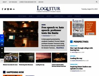 theloquitur.com screenshot