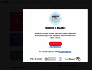thelotter.com screenshot