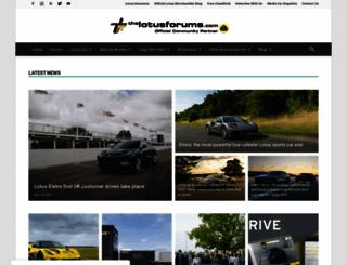 thelotusforums.com screenshot